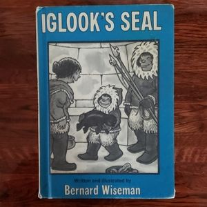 Iglooks Seal Childrens Book 1977